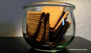 Leibniz-Butterkekse im Weckglas