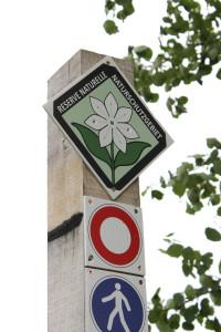 "Emblem ""Siebenstern"", Symbol des Naturschutzgebietes Hohes Venn (Foto: Carmen Menn, Bonn)"