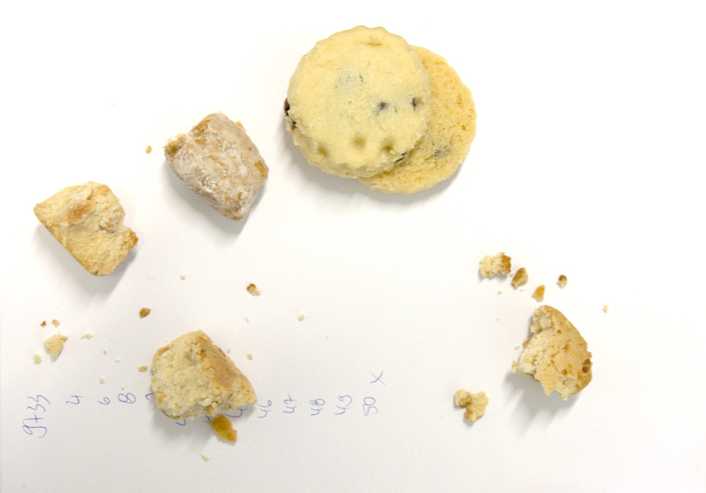 Keks-Portfolio aus Handmade Mini Shortbread und (Foto: Heike Stommel)